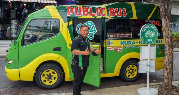 Транспорт в Бали - Kura Kura bus