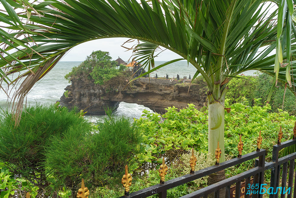 Pura Batu Balong - храм в двора на Tanah Lot